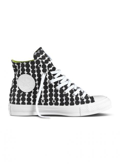 Converse x marimekko -tennarit (valkoinen, musta) |Vaatteet, Naiset, Kengät | Marimekko