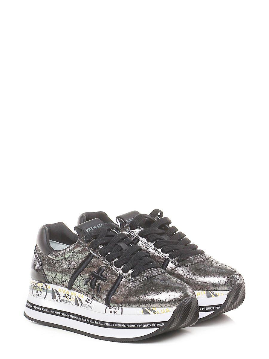 elegante più colori dai un'occhiata Sneaker 4120 antracite/black Premiata | Zeppe, Scarpe e Autunno ...
