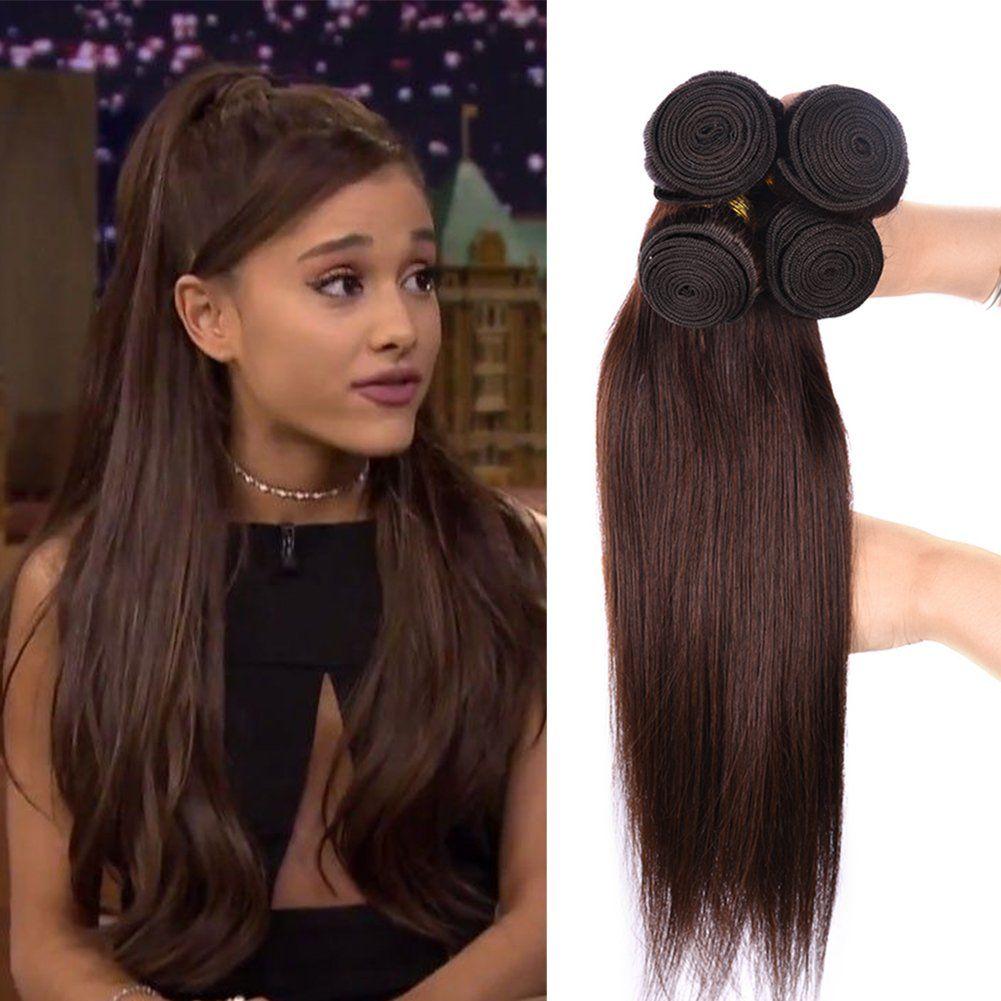 Black Rose Hair 2 Hair Weaves Light Chocolate Brown Human Hair 4