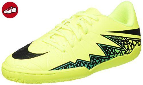 Nike Jr Hypervenomx Phelon Ii Ic, Unisex-Kinder Fußballschuhe, Amarillo ( Volt /