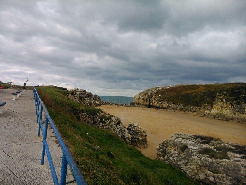 Virgen del mar beach,santander