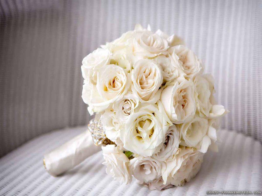 White Bouquete Rosas Brancas Casamento Buque De Noiva Branco Buque De Rosas Brancas
