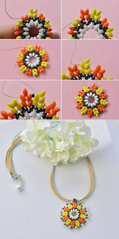 Like this pendant necklace? LC.Pandahall.com will publish the tutorial soon.