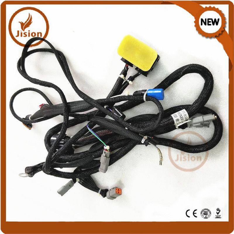 jision excavator hyundai r210lc-9 r250lc-9 r290lc-9 engine wiring harness  21q6-10204