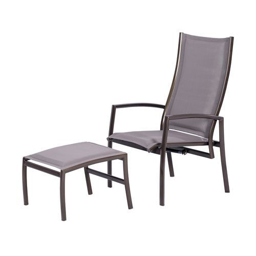 Astounding Talon Adjustable High Back Lounge Chair And Ottoman Gmtry Best Dining Table And Chair Ideas Images Gmtryco