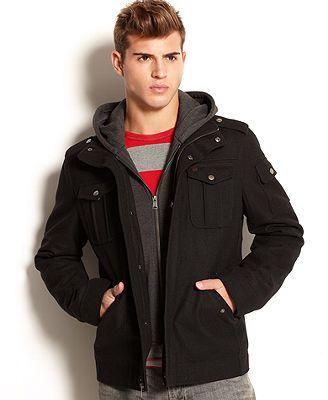 Levi's Hooded Zip-Front Jacket [Got this for the hubby as a Christmas gift. He loves it.]