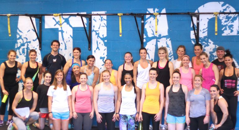 We're looking back on this weekend's #AtlasSweatworking. We got in a great workout at @AtlasCrossfit. Read more: http://wp.me/p2zv39-Qi