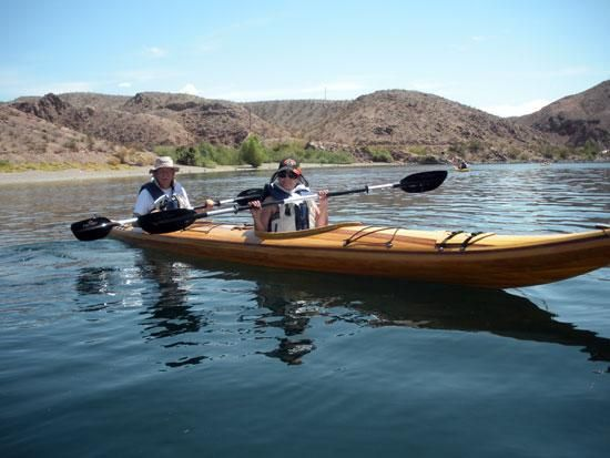 Guillemot Double Strip Built Tandem Sea Kayak From Nick Schade