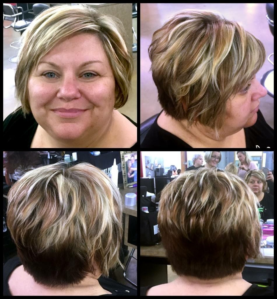 Inverted Pixie Hairstyles Fade Haircut