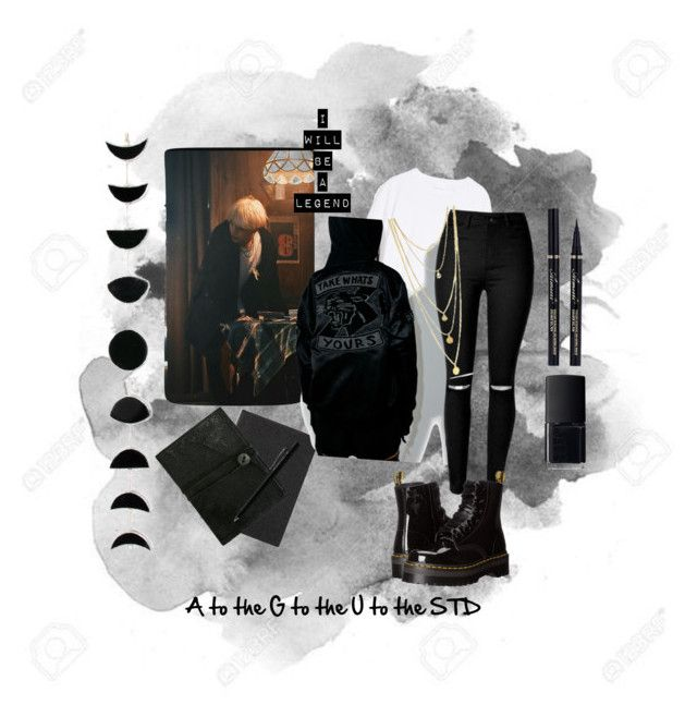 """AGUST D"" by buried-in-dreams ❤ liked on Polyvore featuring Smythson, The Last conspiracy, hÃ¥ndværk, Reason, Dr. Martens, NARS Cosmetics and Faber-Castell"