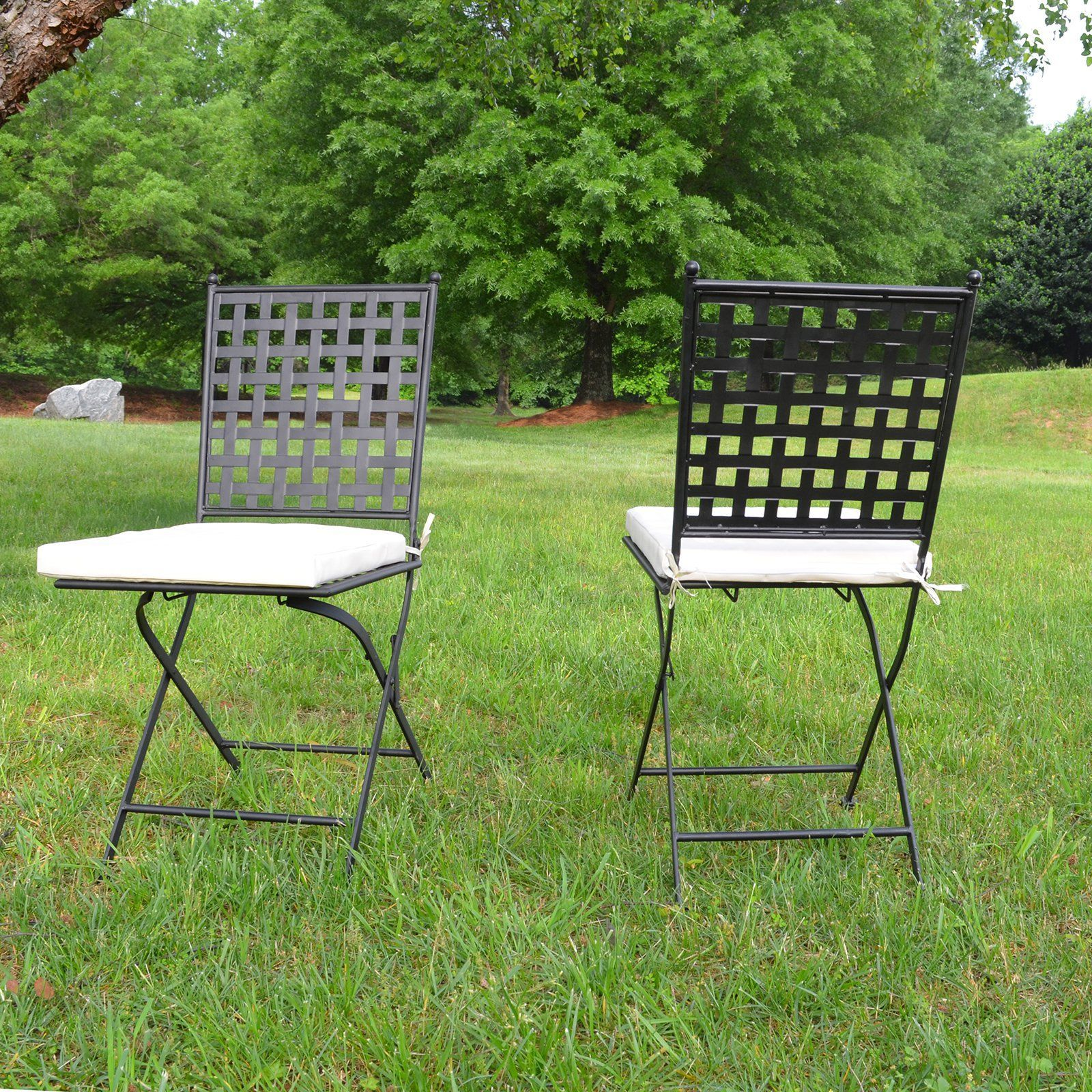 Lark manor paras arm chair amp reviews wayfair ca - Carolina Oxford Folding Dining Chair Set Of 2 5fc1637cam Blk