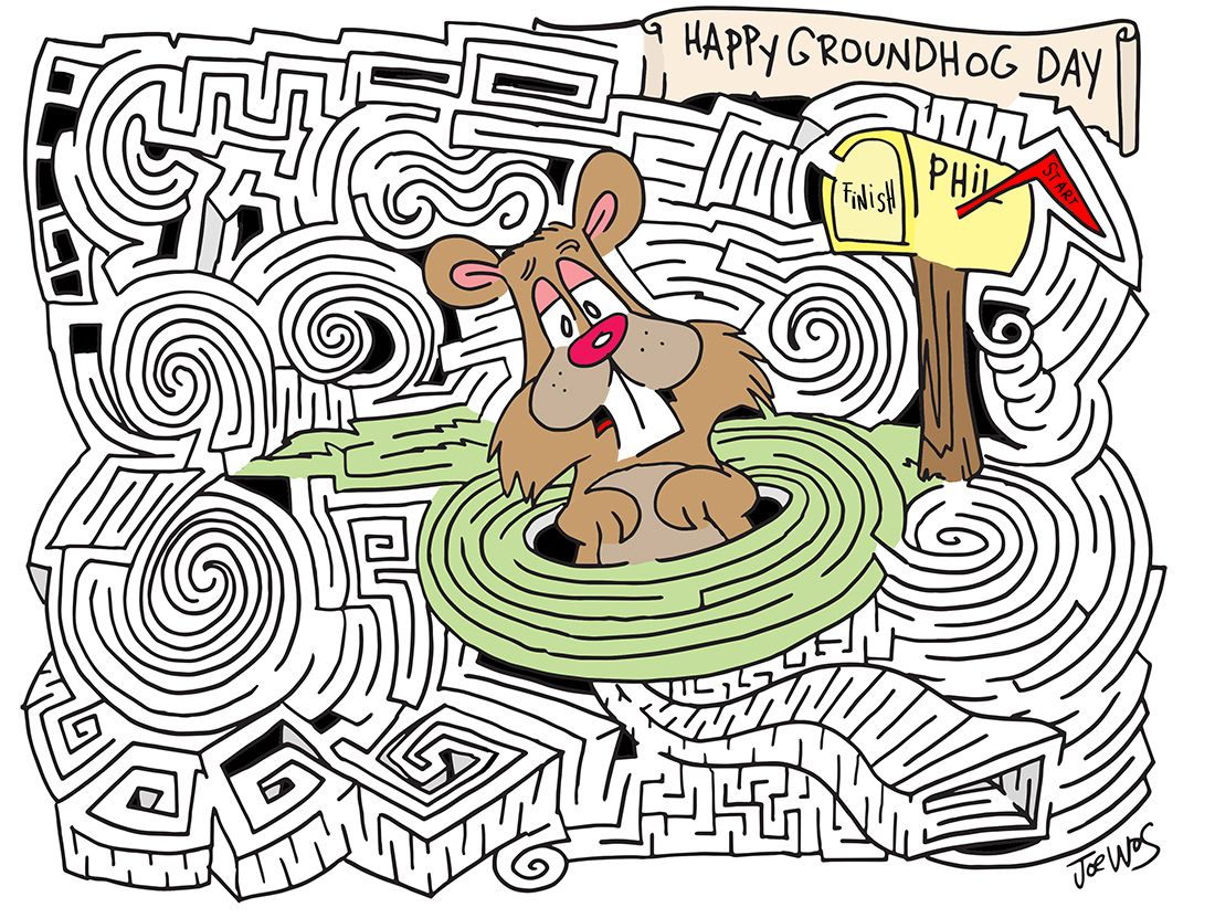 Mazes For The Holidays