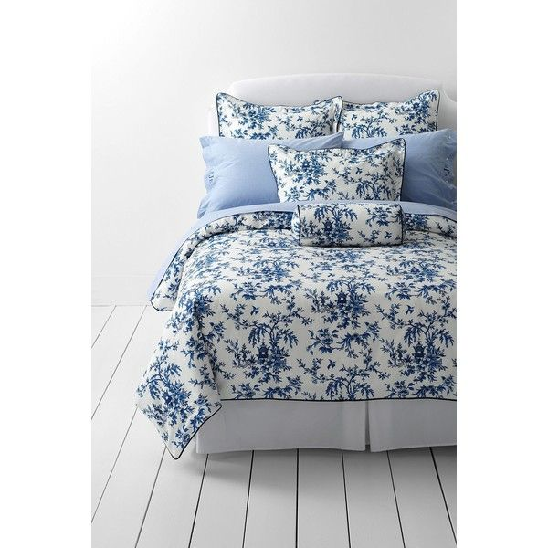 Lands End Oxford Duvet Cover 150 Liked On Polyvore Featuring Home Bed Bath Bedding Duvet Covers Lands End Bedd Duvet Covers Duvet Patterned Bedding