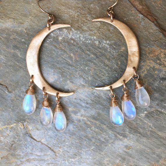Hey, I found this really awesome Etsy listing at https://www.etsy.com/listing/234390578/crescent-moon-earrings-in-bronze-and