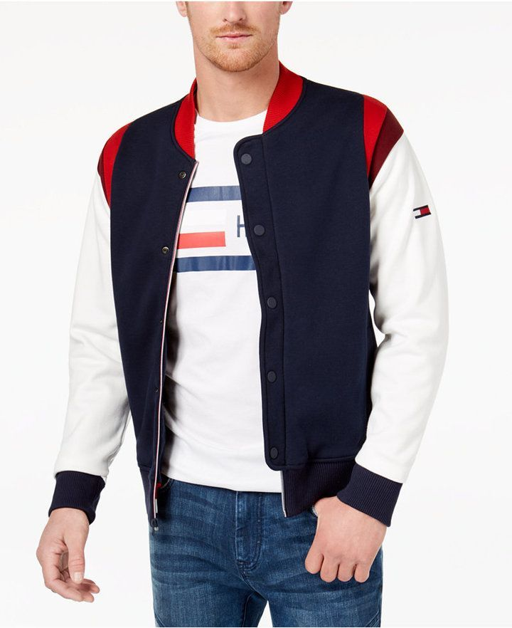 0fcd28c8140a18 Tommy Hilfiger Men s Henry Baseball Jacket