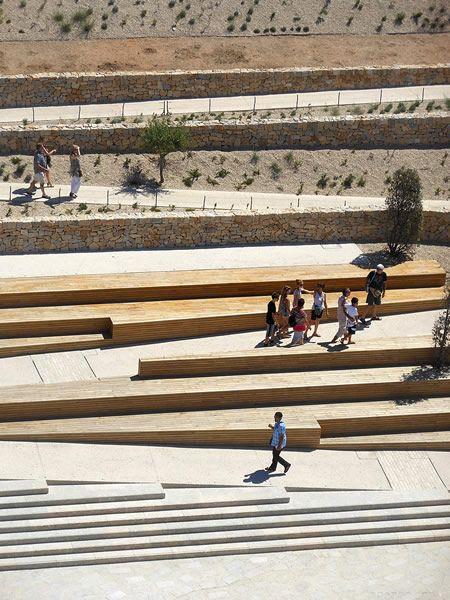 Agence APS (2011): Jardin Promenade Fort Saint-Jean, Jardin des Migrations, Marseille (FR), via agenceaps.com