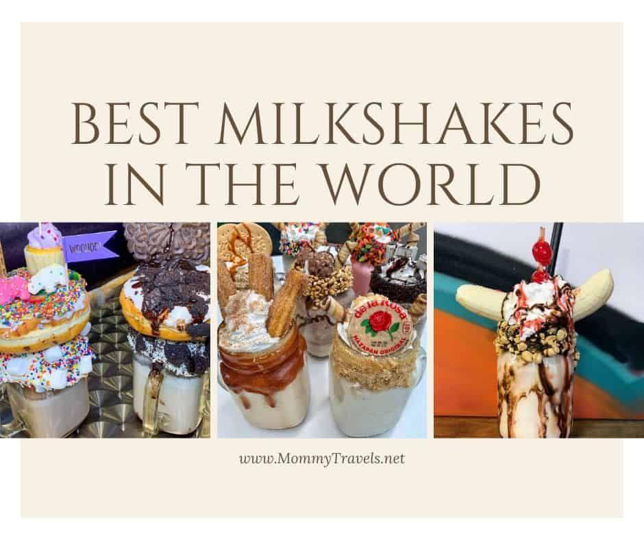 25 Best Milkshakes In The World Best Milkshakes Milkshake Milkshake Shop