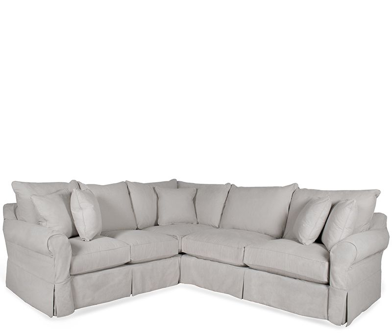 Lancaster 2-pc Sectional - Casual and comfortable, the Lancaster ...