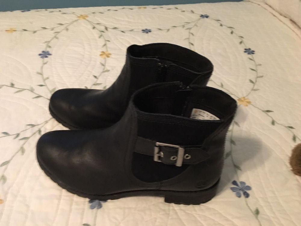 website for discount outlet store sale more photos Women's Timberland Bethel ankle boots size 9 black excellent ...