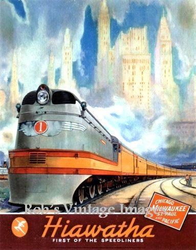 Lexington Kentucky QUEEN /& CRESCENT Poster Southern Railway Train Art Print 228