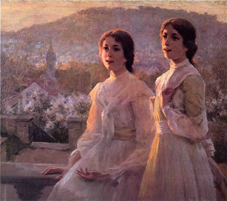 Lil'l Southern Belles, 1894, by Hamilton Hamilton (American, 1847-1928)