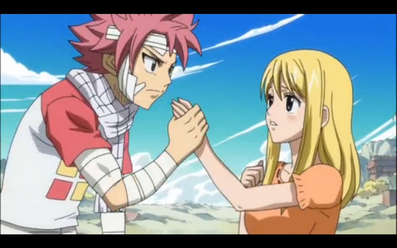 Yay NaLu moment!!! Fairy tail anime, Fairy tail lucy