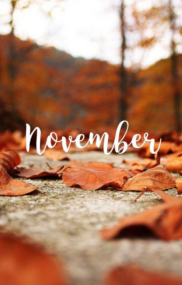Pin By Mariyu On New Months Week Days November Wallpaper Cute Fall Wallpaper Fall Wallpaper