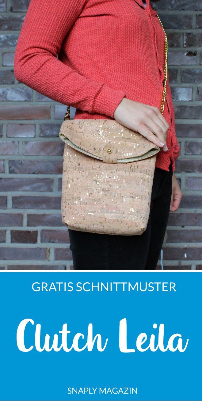 "Photo of Kostenloses Schnittmuster: Handtasche ""Leila"" | Snaply-Magazin"