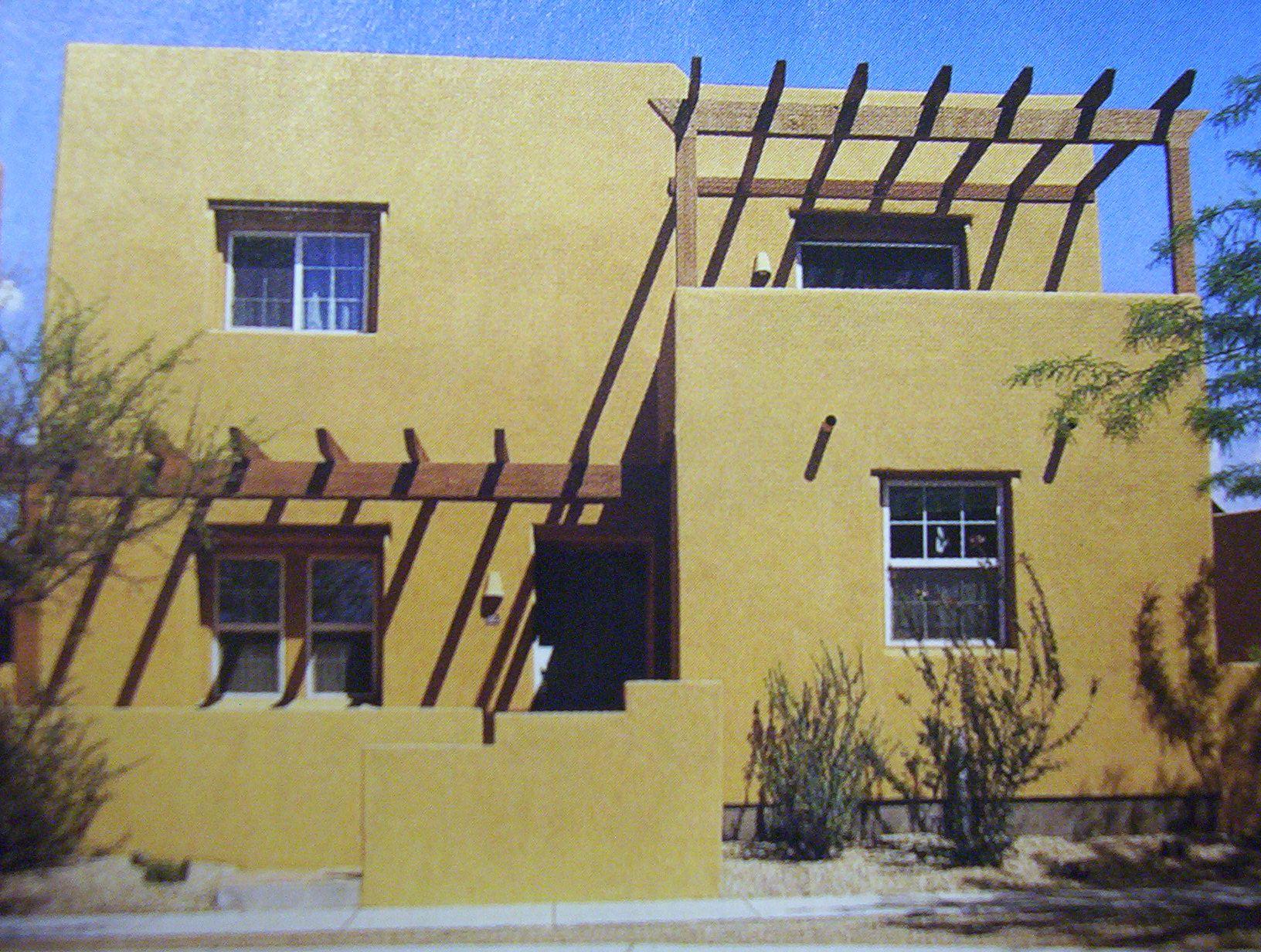 ECO FRIENDLY Architecture ~ Adobe Style Home Design