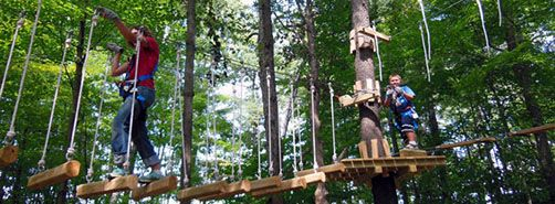 Take On Some Thrilling Zip Line Canopy And Ropes Course Tours This Summer Ropes Course Virginia Is For Lovers Adventure