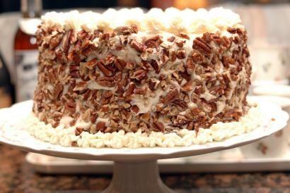 Delmonico Cake Grandmas uses 9x13 pan uses buttermilk cream