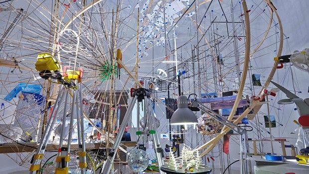 Sarah Sze at the Venice Biennale's U.S. Pavilion | Sotheby's