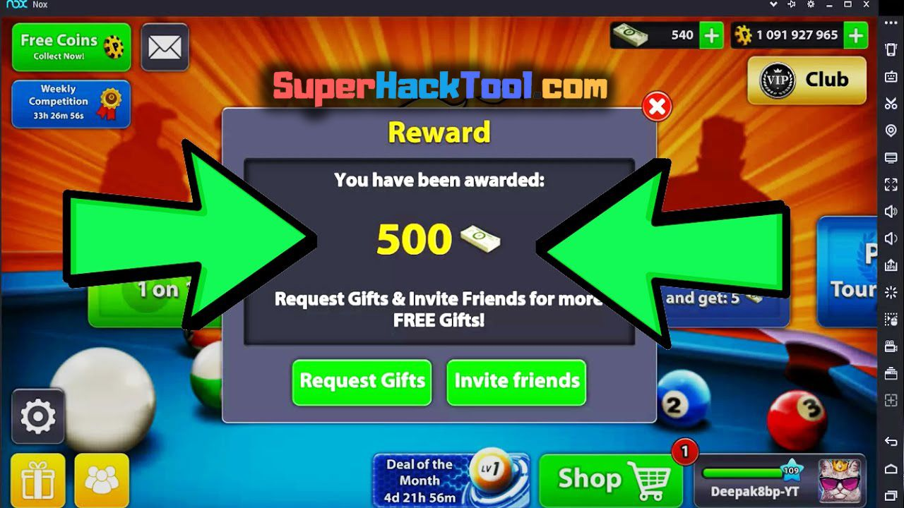 8 Ball Pool Cheats Android 2018 8 ball pool hack and cheats - how to get free cash and coins