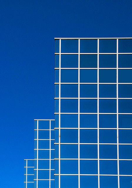 blue on blue by eYe_image, via Flickr