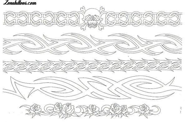 Diseño/Plantilla tatuaje Brazaletes