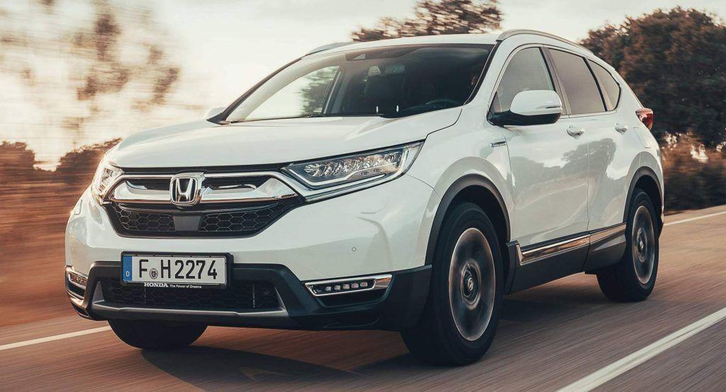 Europes 2019 Honda Cr V Hybrid Gets Fully Detailed In 52 Photos New Honda Honda Cr Lux Cars