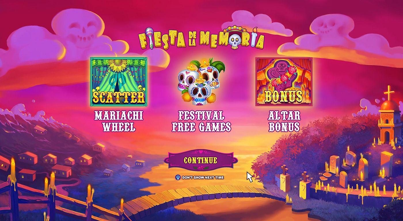 Spiele Fiesta De La Memoria - Video Slots Online