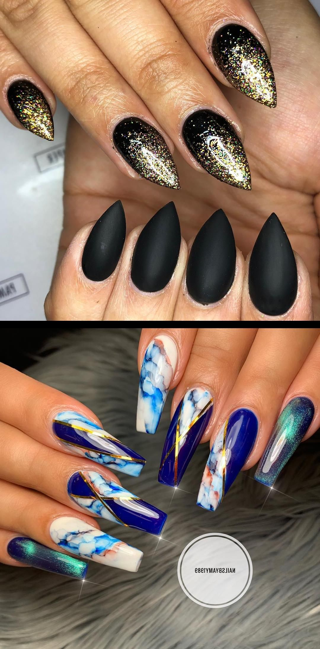 Minda's Ideas: 15 Casual Nails That Will Save You From Stressing 2019 #nailoval