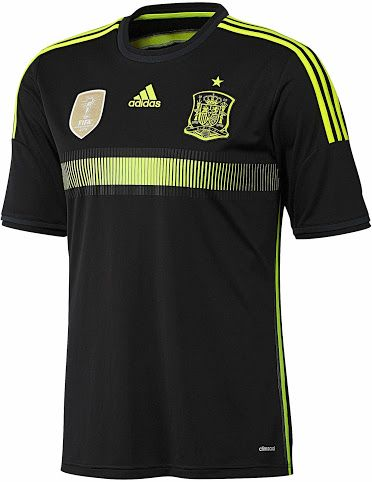 baa5d8fcf Spain Away Kit for World Cup 2014  worldcup  brazil2014  spain  soccer   football  ESP