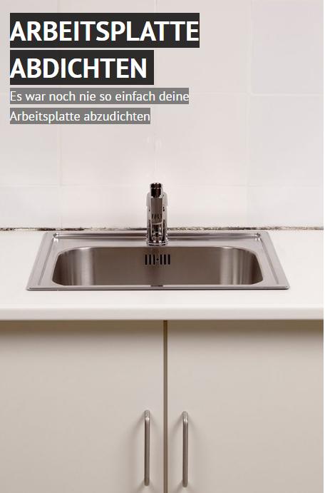 Ziemlich Wie Eine Küchenspüle Abdichten Galerie - Küchen Ideen ...