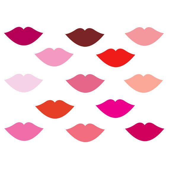 digital clip art for mother s day pink lips clip art lipstick makeup rh pinterest com lipstick free clip art free clipart for lip balm