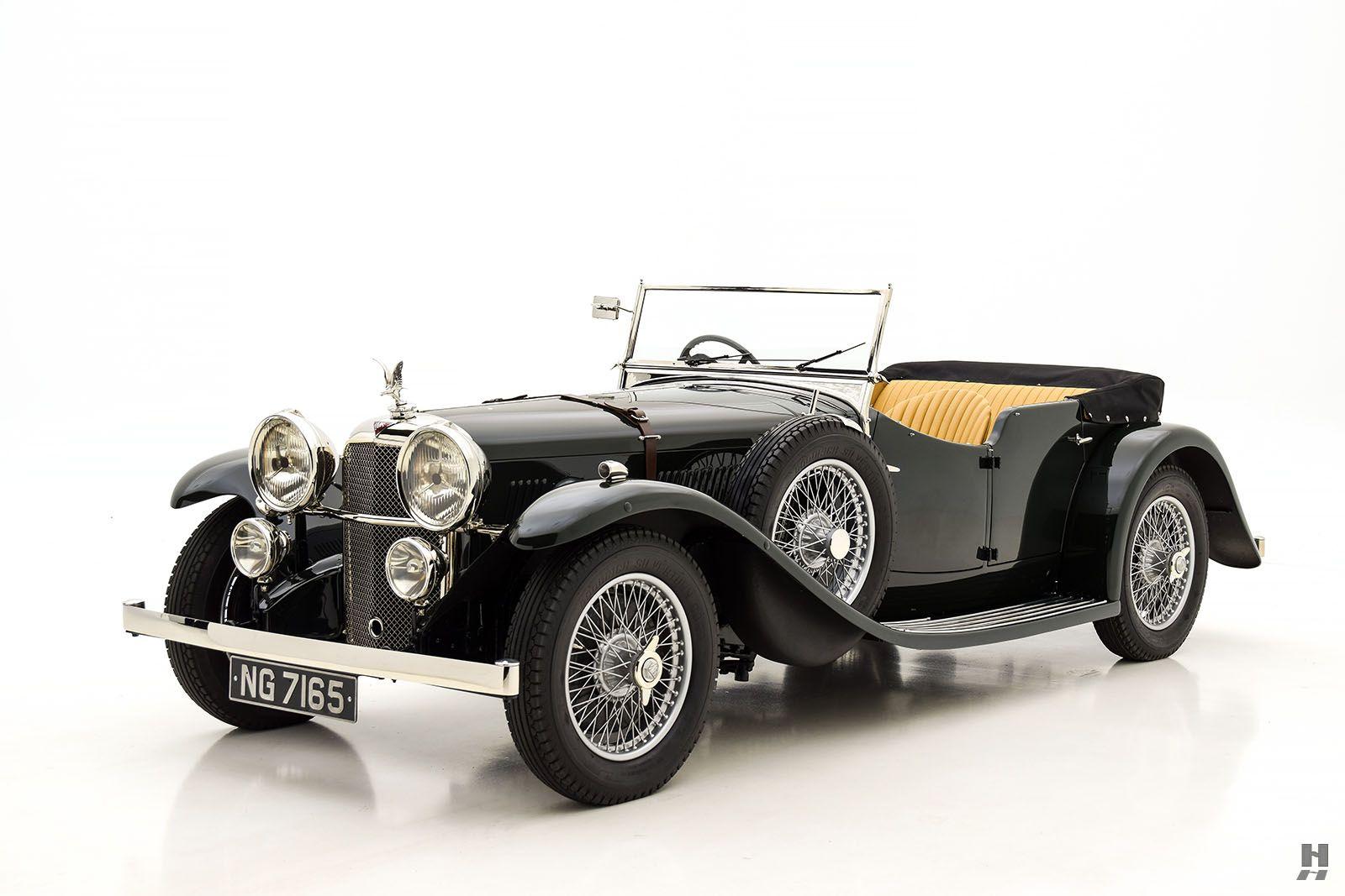 1934 alvis speed 20 sports tourer | antique cars HYMAN LTO ...