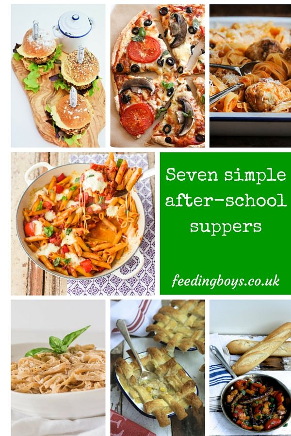 Seven simple after schools uppers on feedingboys babycentre seven after school easy recipe ideas to inspire your meal plans for the week the kids go back to school forumfinder Images