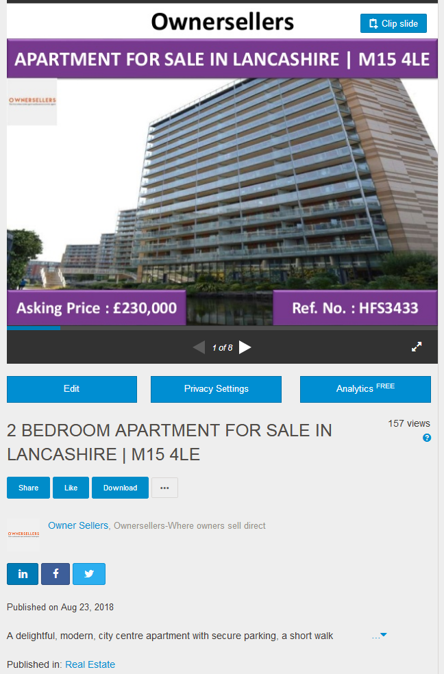 Grab The Opportunity To Buy A Delightful Modern 2 Bedroom Apartment For Sale In Lancashire 2be Apartments For Sale 2 Bedroom Apartment Sell Your House Fast