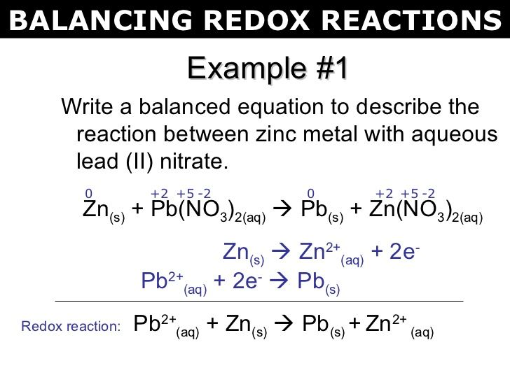chemistry redox reactions explained essay Oxidation and reduction in organic chemistry in ionic and free radical reactions, oxidation and reduction are defined as processes by which an element undergoes a net loss or gain of electrons, respectively.