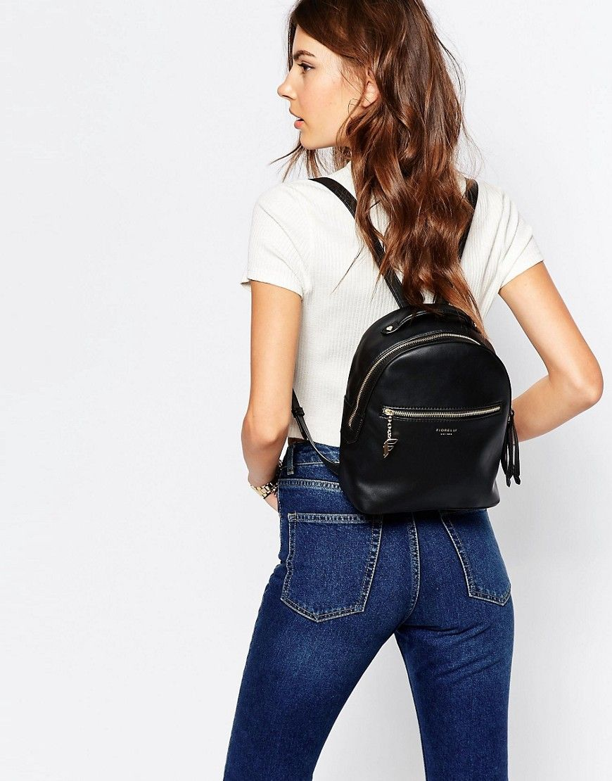 new season outlet sale shop for official Fiorelli Anouk Clean Mini Backpack With Zip Pocket Detail ...
