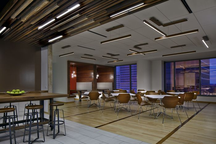 Ginkgo Chairs From Davis Furniture In The Jackson Spalding Atlanta Offices    Designed By Tvsdesign