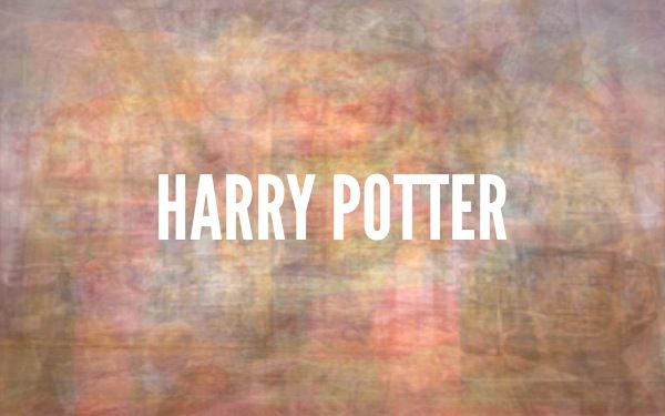 The Color Of Harry Potter created on thecolorof.com