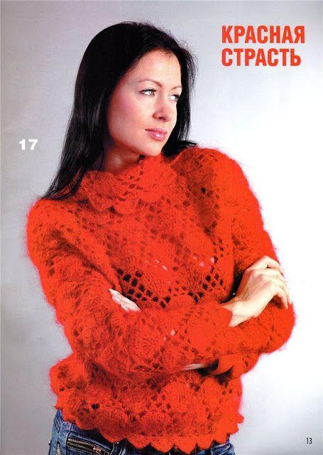 Uncinetto d'oro: Pullover rosso!