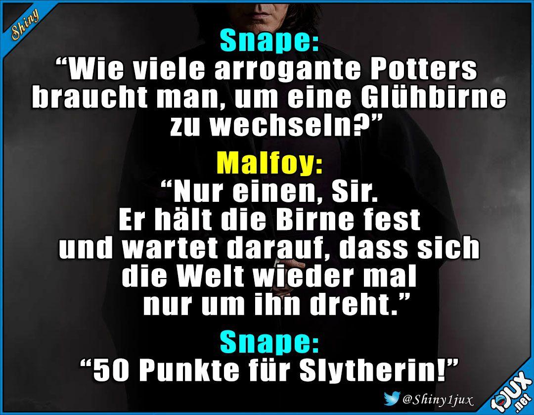 Jetzt Dreht Snape Den Spiess Mal Um P Potterliebe Witz Witze Lustigebilder Spruche Humor Lustige Cartoons Lustige Zitate Und Spruche Draco Harry Potter